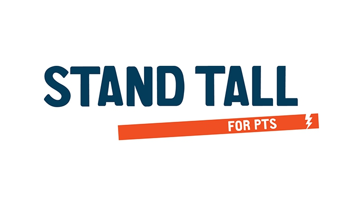 Stand Tall for PTS Logo