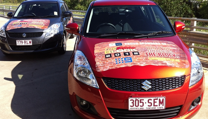 SUZUKI 'THE BLOCK STOCK RENOVATION' CAR WRAPS